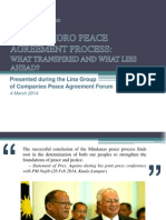 Bangsamoro Peace Agreement Process