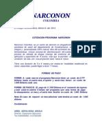 Cotizacion en Dollar Narconon