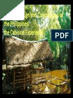 Bambu en Filipinas