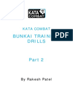 Kata Combat Article 3 Bunkai Training Drills Part 2