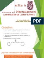 --Práctica 6 Síntesis de dibenzalacetona--