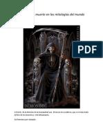 Dioses de La Muerte en La Mitologia