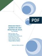 Analisis Fisico Quimico - TERMINADO