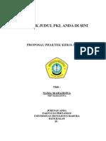 Template PROPOSAL PKL Fakultas Pertanian 2010