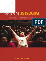 Timothy S. Lee Born Again Evangelicalism in Korea 2010
