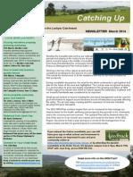 2014 March Lockyer Catching Up Newsletter