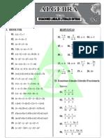 Ecuaciones Lineales Literales Enteras