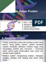 Analisis Kadar Protein