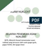 Persentation Asam Nukleat Kelompok