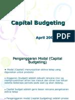 Kuliah 7 Capital Budgeting
