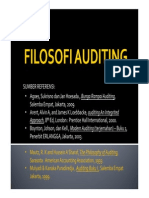 Filosofi Auditing