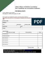 AGM NOV 2009 and AGM Registration Form