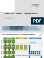 Juniper:Certification Paths by Credential