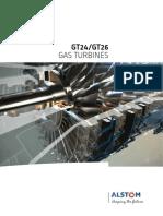 Turbina de Gas GT24 y GT26 alstom