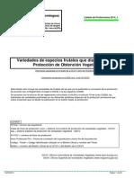 Listado Protecciones TOV_2014_1