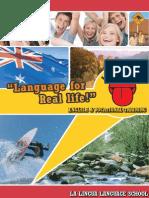 La Lingua Brochure 2014