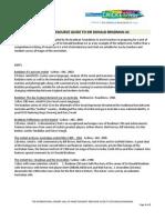 Teachers Resource Guide to Sir Donald Bradman AC