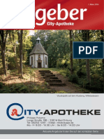 Ratgeber aus Ihrer City-Apotheke – März 2014