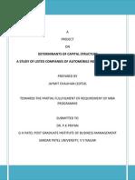 Final Report .1  bank financial report
