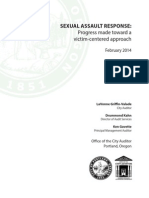 Portland Sexual Assault response 2014