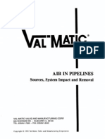 Air in Pipelines