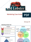Red lobster case analysis