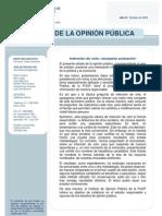 2009 Octubre Politica, Economia Aprobacion Lima