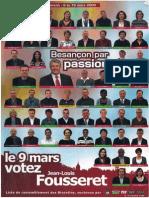 Besançon par passion - Fousseret 2008