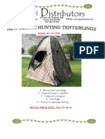 retail - hunting tents
