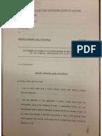 Oscar Pistorius Bail Application