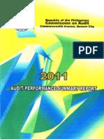 COA_Performance Report 2011
