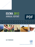 ESCWA ANNUAL REPORT 2012