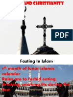 fasting in islam and christianity