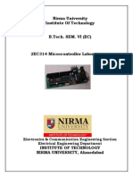Microcontroller Lab Manual - 2013-14