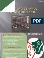 EL TEATRO ESPAÑOL ENTRE 1900 Y 1936 definitivo