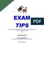 Exam-tips Anurag Chopra