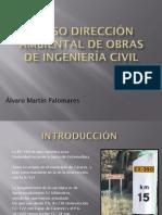 CURSO DIRECCIÓN AMBIENTAL DE OBRAS DE INGENIERÍA CIVIL