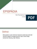 epispadia