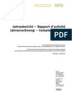 Jahresbericht / Rapport d'activité 2007