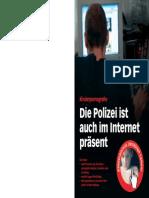 Die Polizei ist auch im Internet präsent