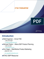 Motor Control for Industrial Applications Altera