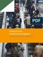 Broschüre «Polizeilicher Sicherheitsratgeber»