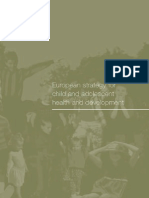 European Strategy for Adolescent Health