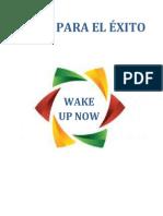 Guia para el éxito WakeupNow