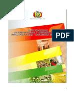 Plan Nacional de Preparativos y Respuesta ante la Influenza Aviar y la Influenza Pandémica