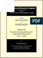 Hunt & Poole (Ed) Political History of England 04 (1377 to 1485)
