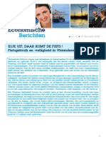 Economische Berichten - KIJK UIT, DAAR KOMT DE FIETS! Fietsgebruik en -veiligheid in Vlaanderen