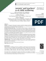 Parents_school_children View on Well Being