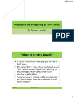Production and Processing of Terry Towels-Libre