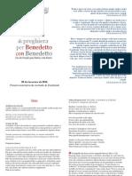 Libretto Preghiera Portoghese